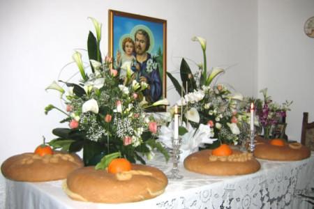 Tradizione e devozione. Il sacrificio di allestire e donare: Le Tavole di San Giuseppe 18 e 19 Marzo