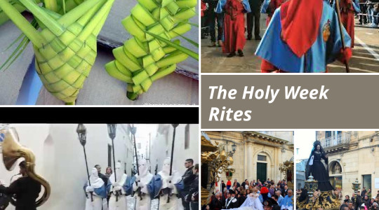 THE HOLY WEEK RITES IN SALENTO